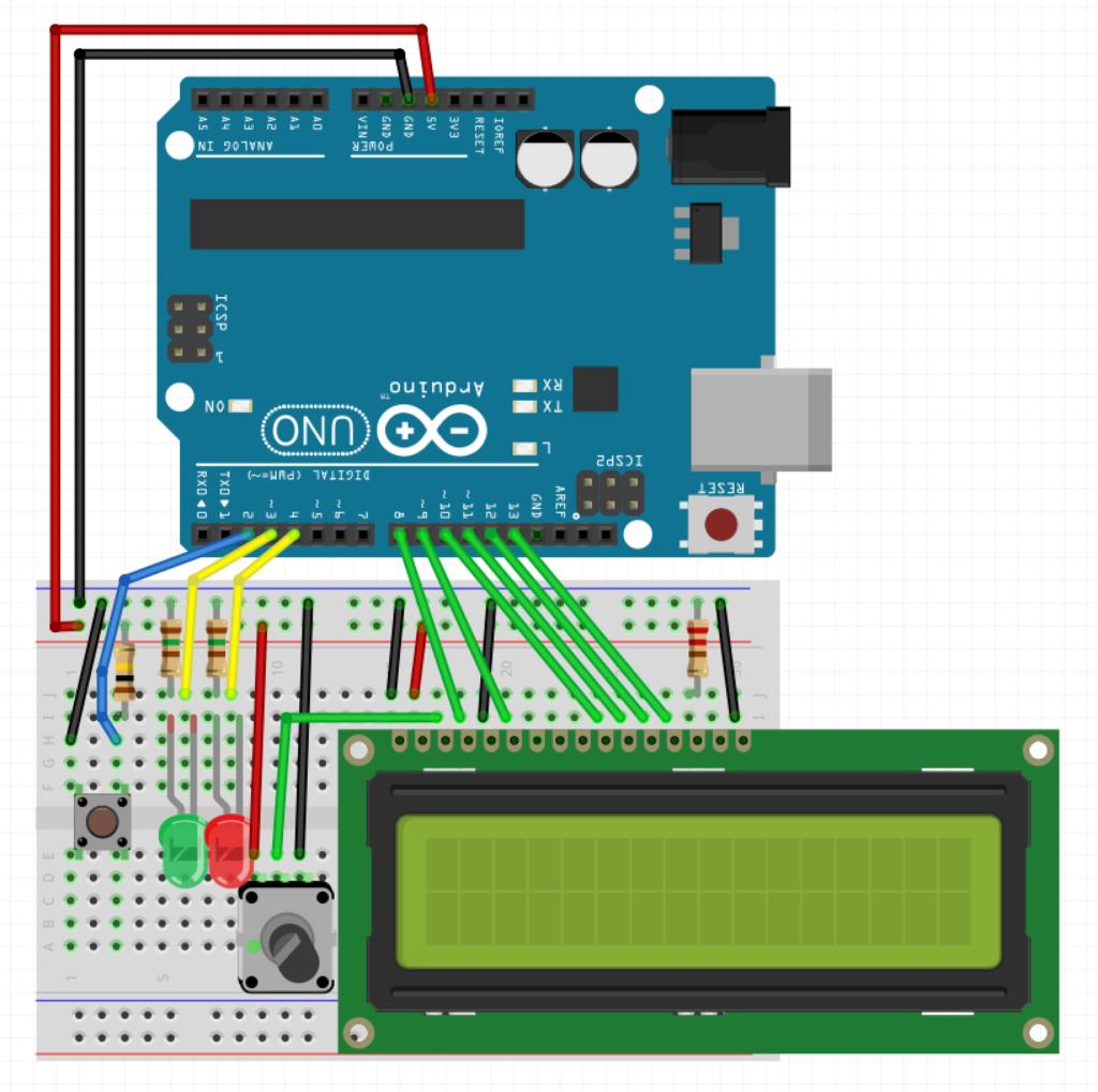Schéma Arduino