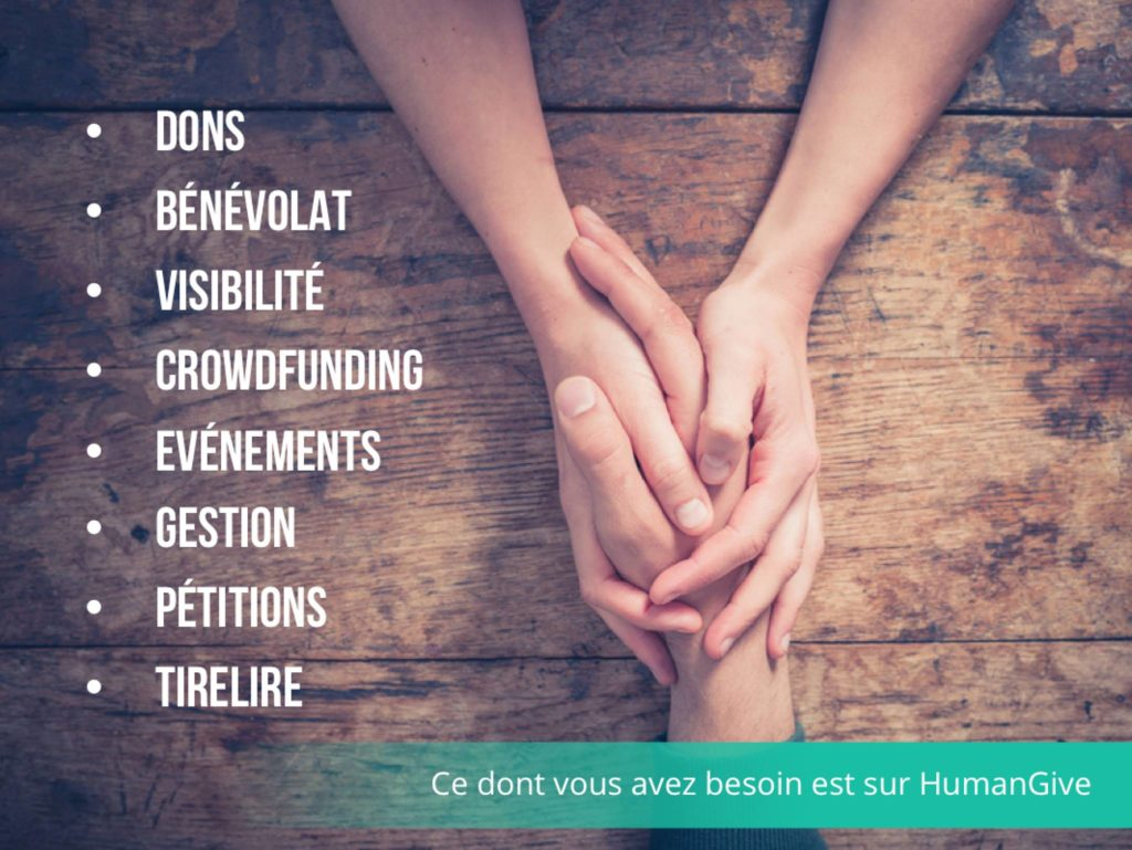 Les outils HumanGive